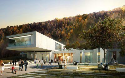 Article de Presse – La nouvelle salle de spectacles de Royat (Puy-de-Dôme)