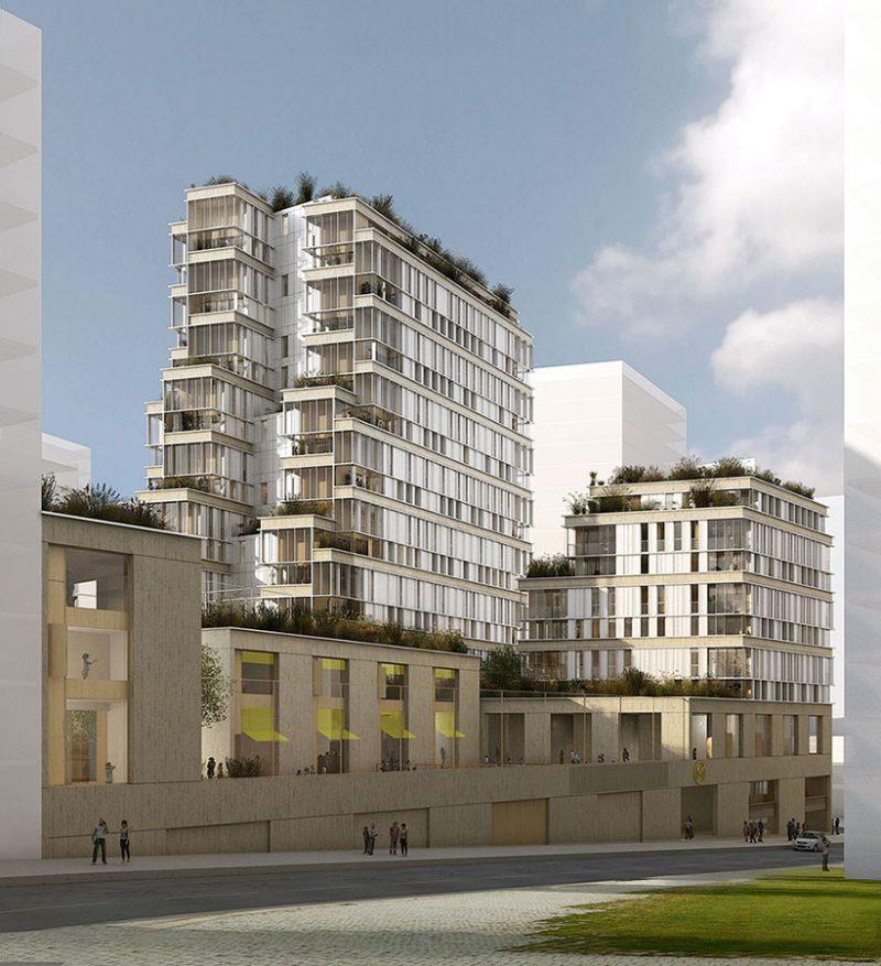 Ensemble immobilier - PARIS - 5