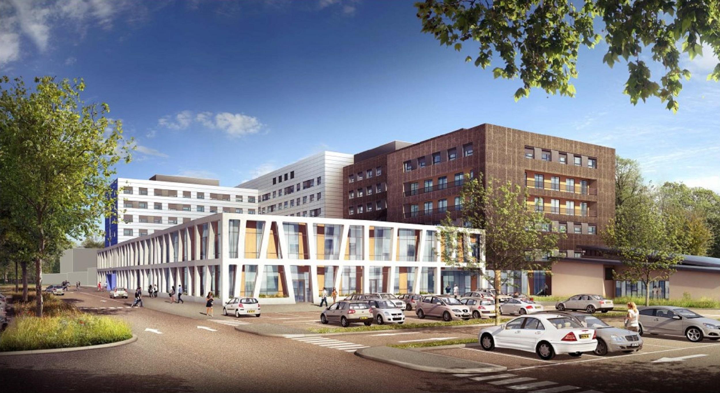 Réhabilitation Hôpital Fleyriat - BOURG EN BRESSE - 2